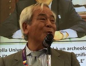 Il Premio Tasso all'archeologo Masanori – video –