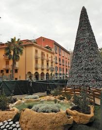 A Sant'Agnello addobbi destinati ad essere riciclati