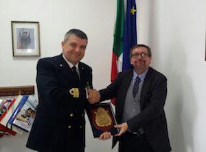 Il presidente dell'Autorità Portuale in visita a Castellammare