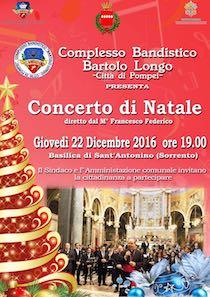 A Sorrento il concerto della banda di Pompei