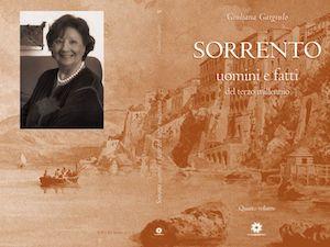 Si presenta il nuovo libro di Giuliana Gargiulo sui sorrentini