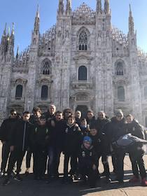 Trasferta a Milano per i ragazzi dell'Accademia Calcio Sorrento