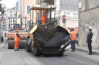 Da lunedì il rifacimento delle strade di Sorrento
