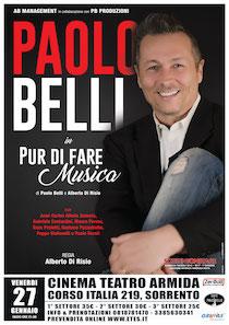 Venerdì a Sorrento lo spettacolo di Paolo Belli