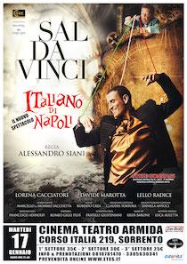 Martedì a Sorrento lo spettacolo di Sal Da Vinci