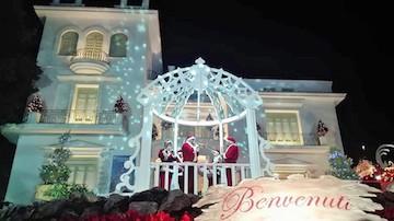 Record di visitatori per le attrazioni di Natale a Villa Fiorentino