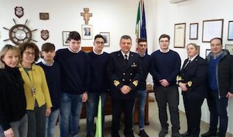 """Alternanza scuola-lavoro, accordo Capitaneria-nautico """"Bixio"""""""