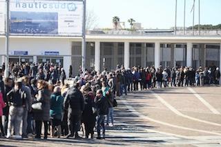 Folla di visitatori per il Nauticsud 2017