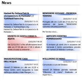 Ancora un attacco hacker al portale del Comune di Massa Lubrense