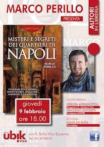 A Vico Equense il libro di Perillo sui luoghi incantati di Napoli