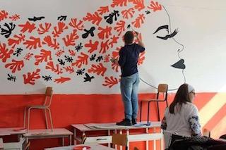 """Al liceo artistico """"Grandi"""" l'autogestione diventa workshop – foto –"""