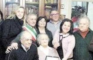 A Massa Lubrense festa per i 100 anni di Graziella Persico
