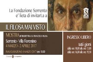 """A Villa Fiorentino la mostra """"Il Filosa mai visto"""""""