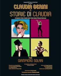 Claudia Gerini in scena al Teatro delle Rose