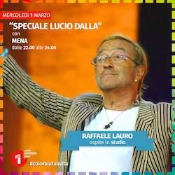 Questa sera speciale di Radio Antenna Uno su Dalla con Lauro
