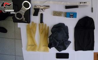 Tenta furto in casa di gioielliere di Sorrento, arrestato