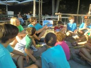 Campo estivo per i ragazzi nel Parco di Punta Campanella