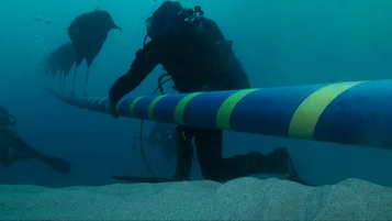 Nuova rete elettrica costiera sorrentina e Capri, continuano i lavori