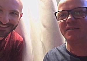 Gigi D'Alessio e Gigi Soriani rivedono la mitica 'O Sarracino – video –