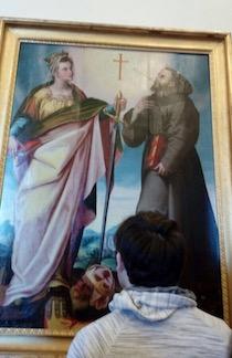 Esposto il dipinto restaurato dalle Amiche del Museo Correale – foto –