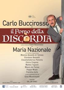 """Al Delle Rose In scena Buccirosso con """"Il pomo della discordia"""""""