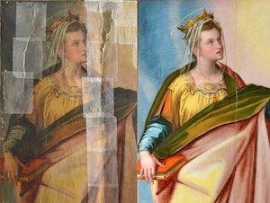 Oggi la consegna del quadro restaurato dalle Amiche del Museo Correale
