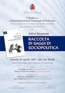 A Sorrento si presenta il libro di Salvo Iavarone