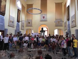 """Il """"San Paolo"""" incontra gli studenti Erasmus"""