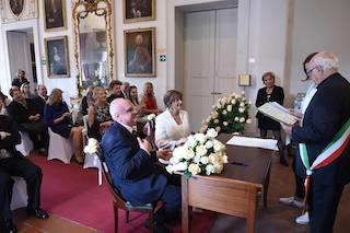 Al Museo Correale il matrimonio del dermatologo Montagnaro