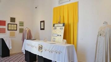Mostra del ricamo di Villa Fiorentino, visitatori entusiasti