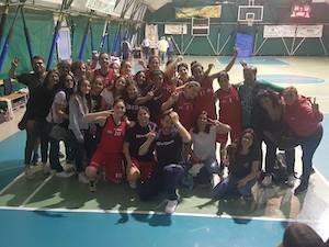 Le ragazze della Polisportiva Sorrento promosse in B – video –