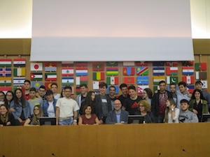 """Studenti del """"San Paolo"""" in visita alla Fao"""