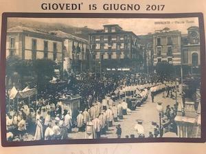 Giovedì a Sorrento la processione del Corpus Domini – il dispositivo per il traffico –