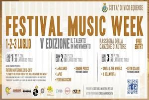 Musica e fumetti al Festival Music Week di Vico Equense
