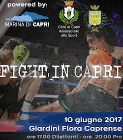 A Capri appuntamento con gli sport da combattimento