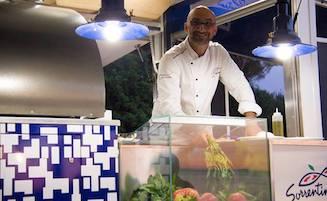Lo chef pizzaiolo Esposito star del programma Gustibus de La7