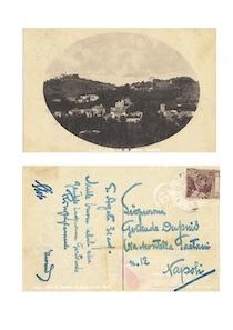 Ritrovata una cartolina spedita da Salvatore Di Giacomo da Sant'Agata