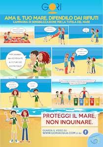 Fumetti e video per sensibilizzare alla tutela del mare
