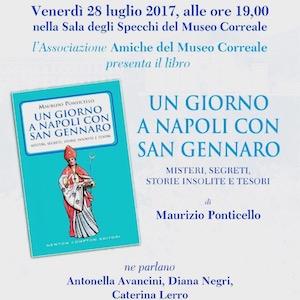 il libro sui segreti di San Gennaro presentato al Museo Correale