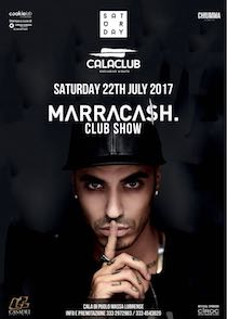 Marracash al Calaclub, per il rapper unica data in Campania
