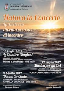 Sul Monte San Costanzo il Concerto al Tramonto