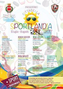 Aperte le iscrizioni a Sportlandia 2017