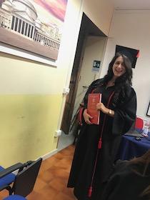 Una nuova laureata nella famiglia di SorrentoPress