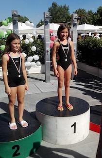 Nuovo successo per la giovane nuotatrice Vita Dell'Amura