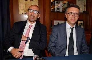 Cantone e Caringella a Sorrento per presentare il loro libro
