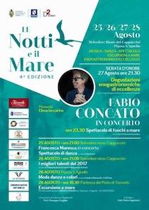 """A Sant'Agnello """"Le notti e il Mare"""" con Fabio Concato"""