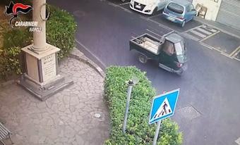 Il rogo di Faito arriva a Moiano, arrestato il presunto piromane – foto –