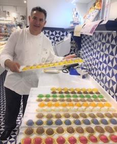 Il nuovo dolce di Sal De Riso ora ha un nome: Cabochon D'Amalfi.