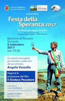 A Sorrento si ricorda il sindaco di Pollica, Angelo Vassallo