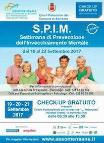 A Sorrento check-up gratuito per prevenire l'invecchiamento mentale